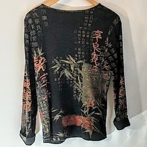 Chico's Tops - Chico's Long Sleeve Pullover Top